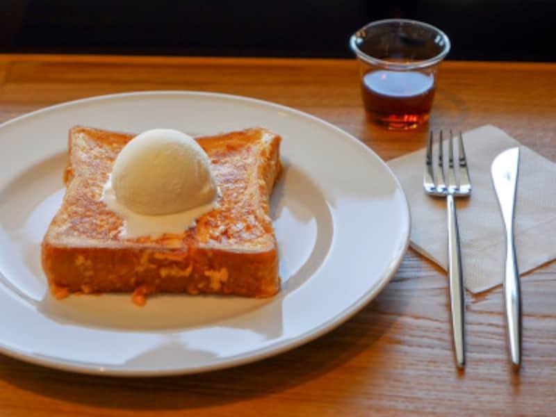 黄金(こがね)フレンチトースト(1280円税別)(2019年10月28日撮影)