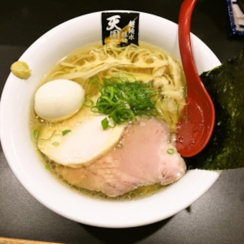 読者が選ぶベストラーメン2018!総合第5位:超純水採麺天国屋(東京・町田)