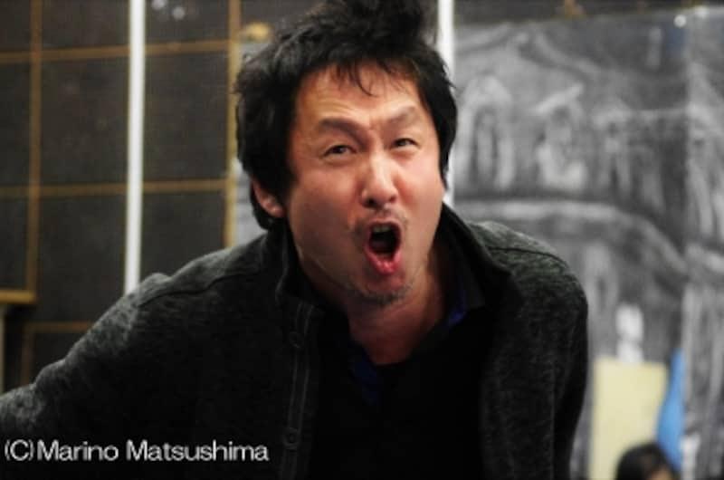 『SuicideParty』「赤」チーム稽古より。(C)MarinoMatsushima