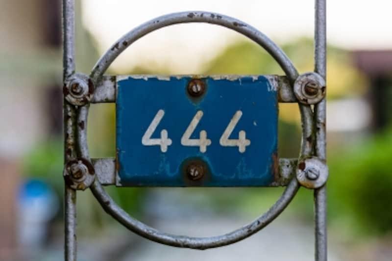 444の数字
