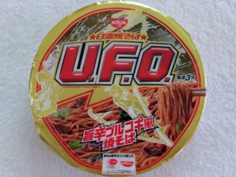 日清食品U.F.O.旨辛プルコギ風焼そば