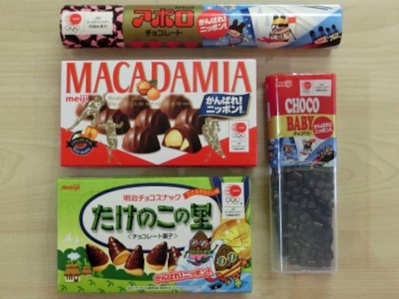 明治の平昌五輪応援チョコレート菓子