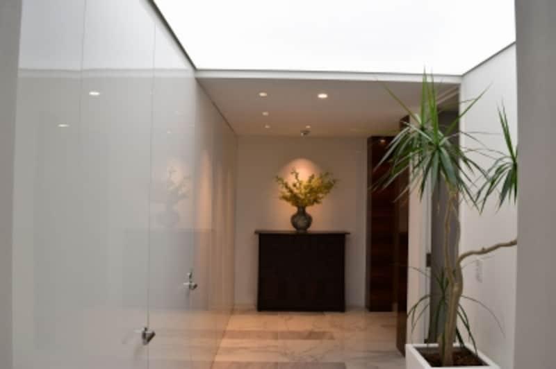 モデルルームの玄関