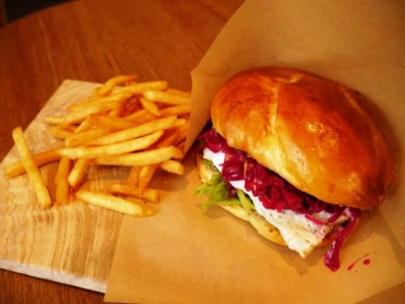 照り焼きエッグハンバーガー