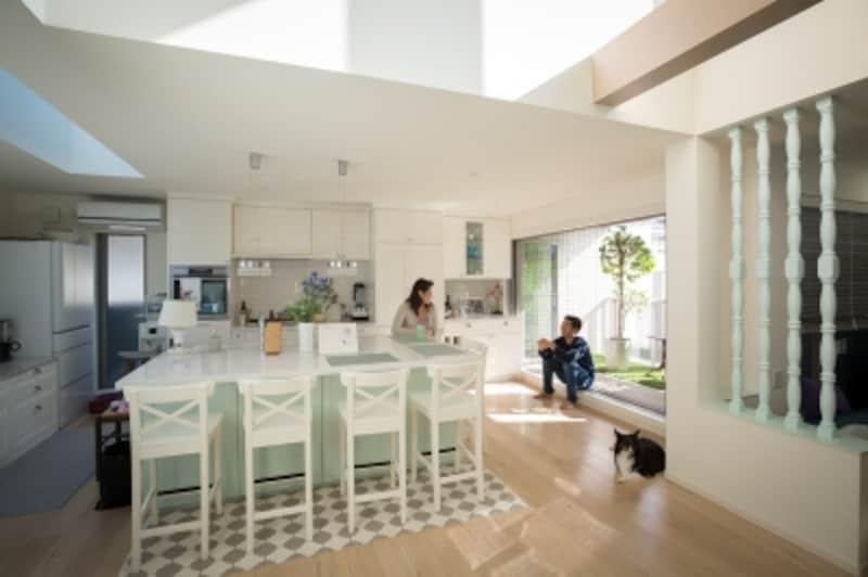 ヘーベルハウス独立二世帯住宅実例