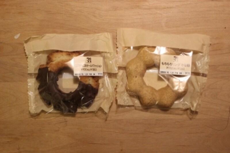 セブンのドーナツのパッケージは、ナチュラルテイスト