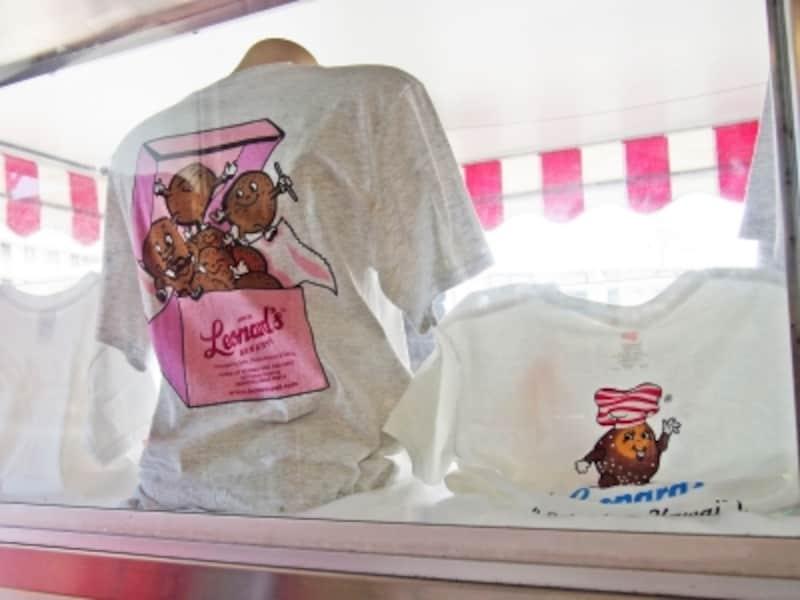 マラサダで有名な「レナーズ」にもオリジナルキャラクターのTシャツが