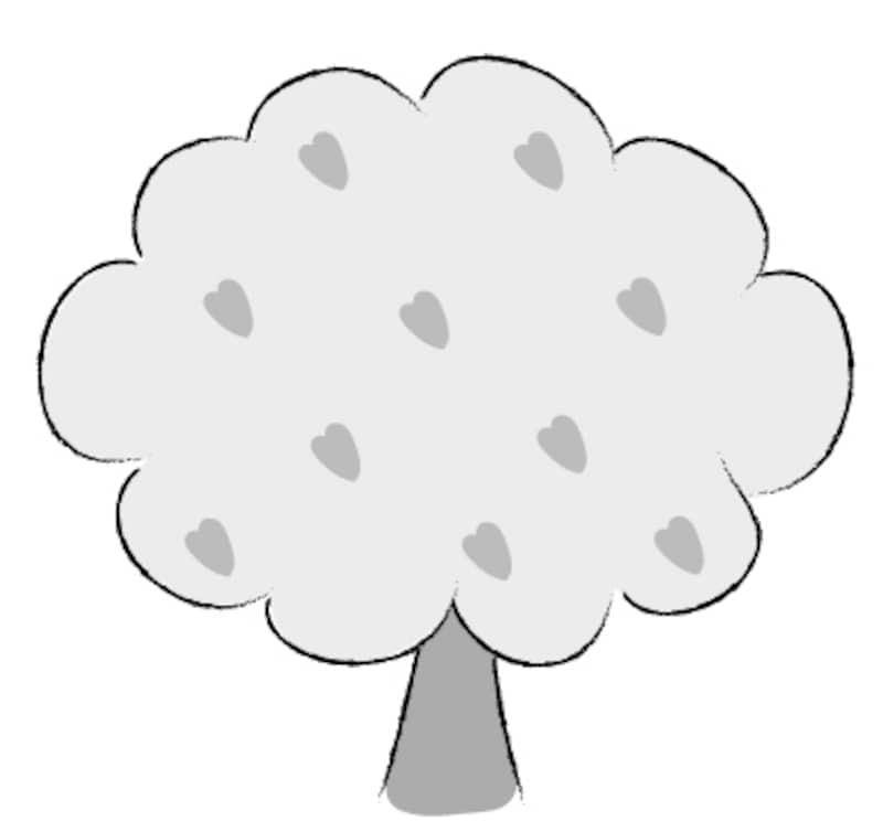 桜さくらのかわいい無料イラスト素材 白黒カラー Web素材 All About