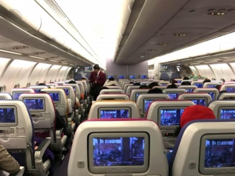 機内,サービス,エコノミークラス