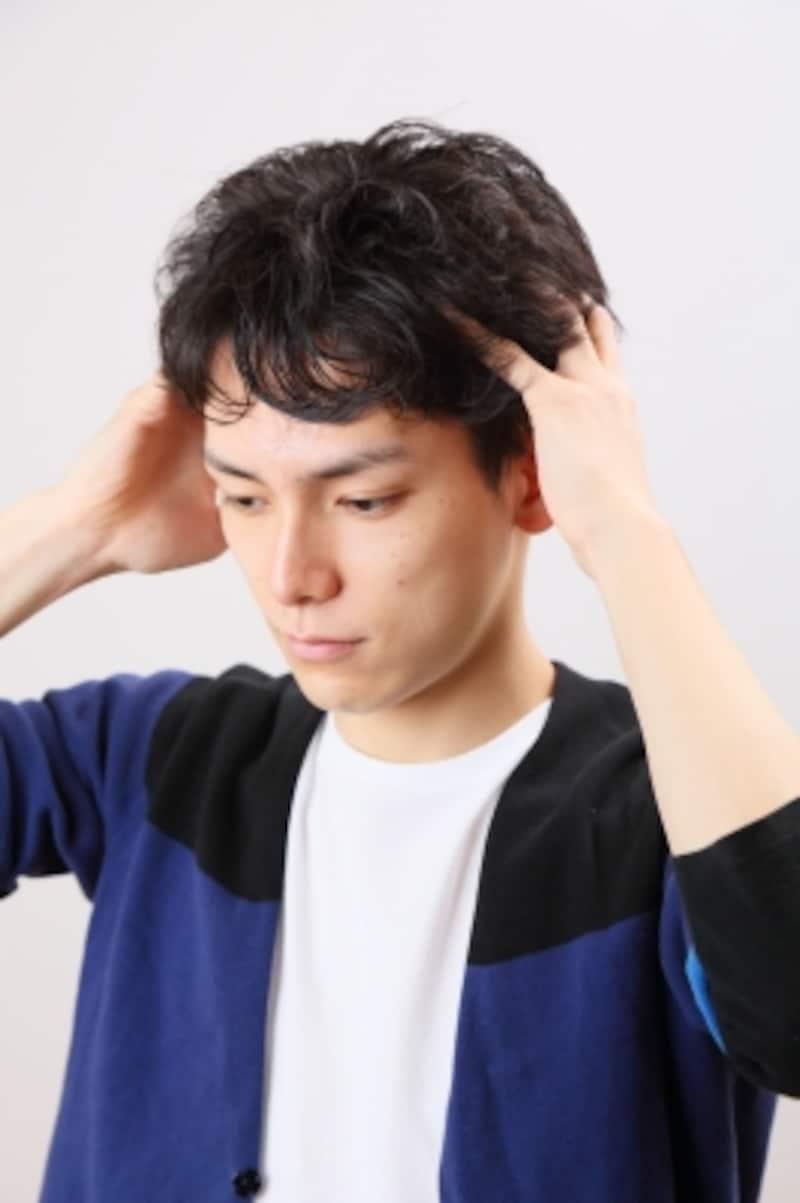 頭皮マッサージ1