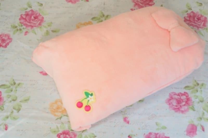 枕とタオルで手作りするトッポンチーノ