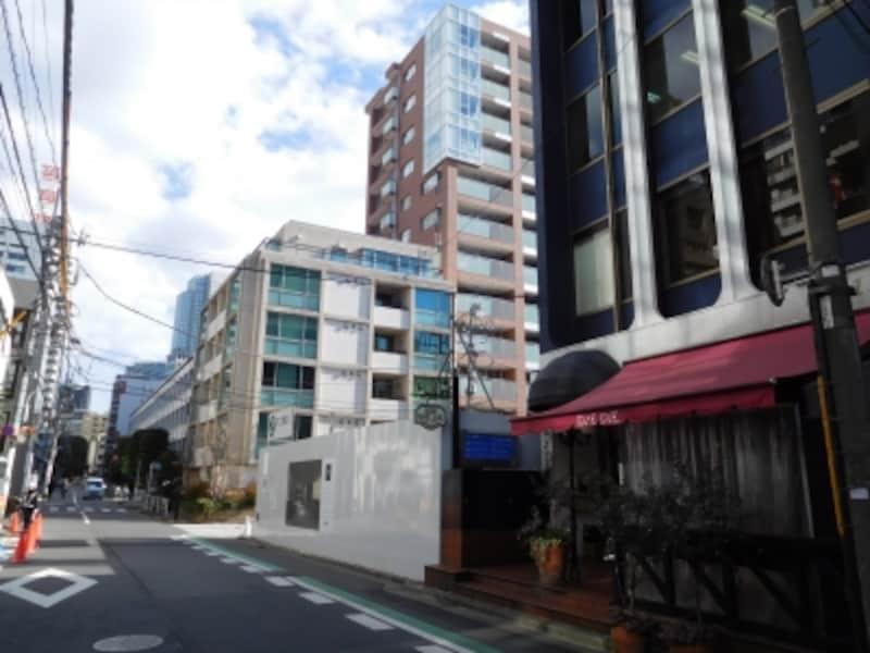 「ピアース赤坂」の建設地