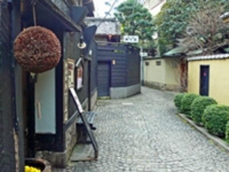 神楽坂のイメージ写真・石畳