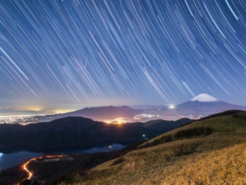 「星空天体観測&夜景ナイトツアー」イメージ(提供:プリンスホテル)