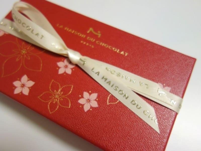 ラ・メゾン・デュ・ショコラ「Fleuri(フルーリ)」のボックス