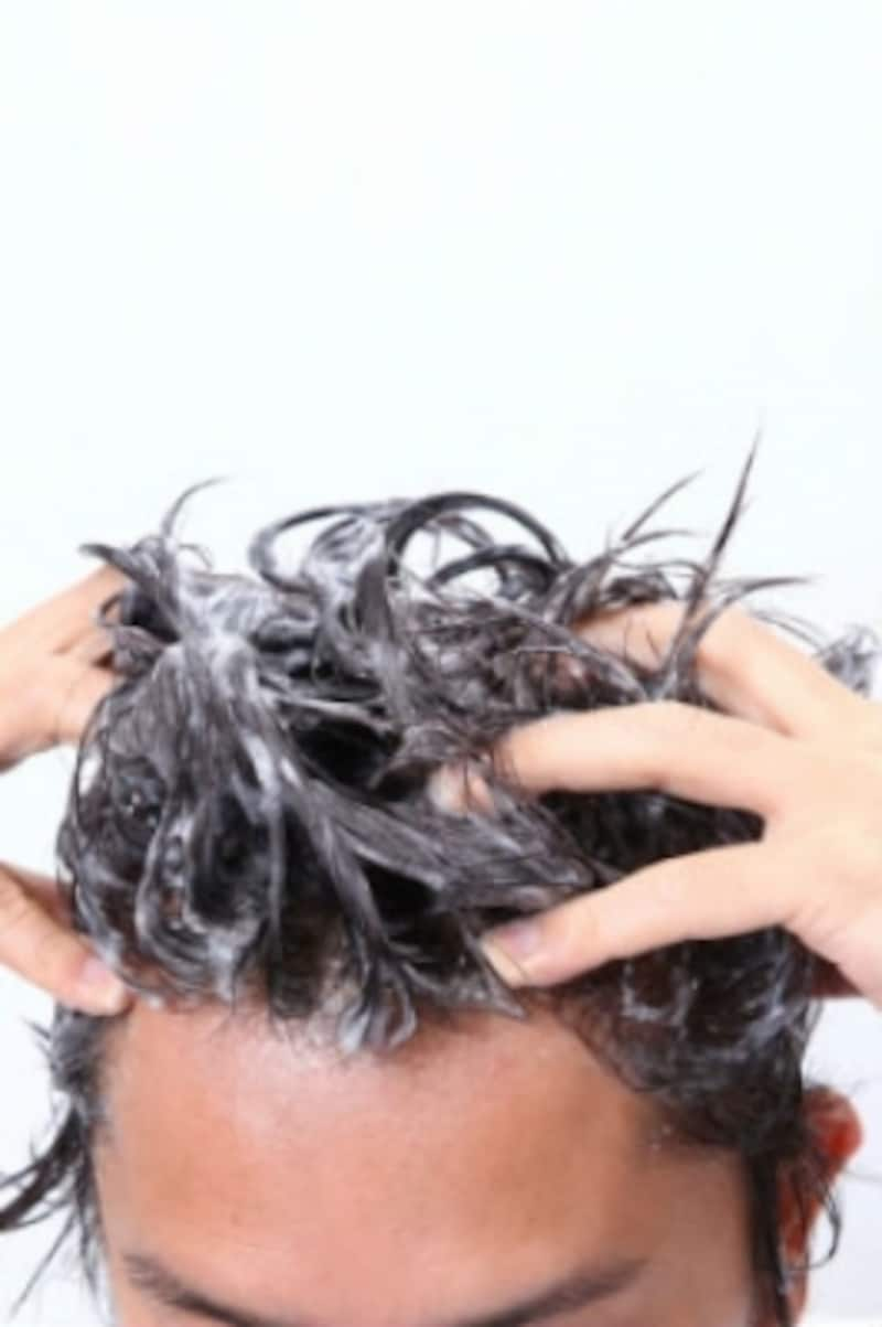 髪の毛,洗い方