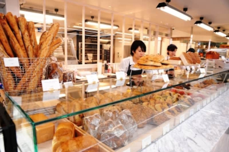 リベルテのパン売り場