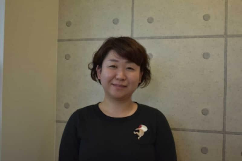 ワーカーズコープちばの及川恵さん。地域での活動を通じて、「制服バンク」を立ち上げた