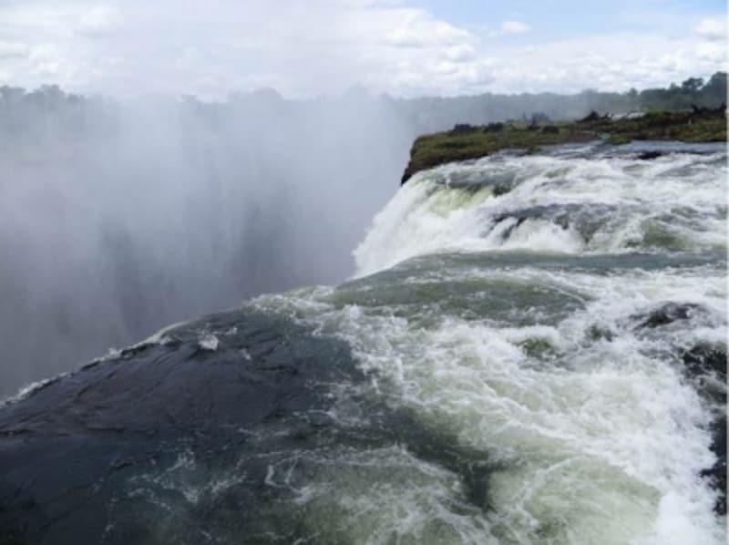 世界三大瀑布undefined滝undefinedヴィクトリアの滝