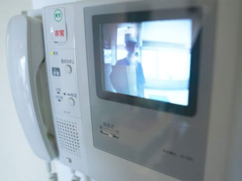 カメラ付きドアフォン