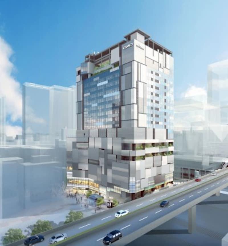 「渋谷フクラス 南西側外観イメージ」提供元:東急不動産株式会社