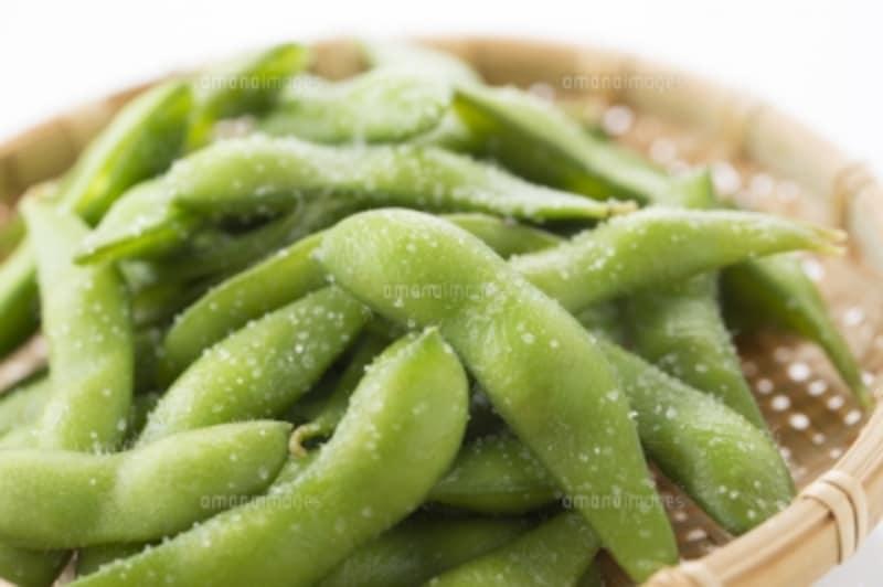 冷凍のゆで枝豆は自然解凍でOK!