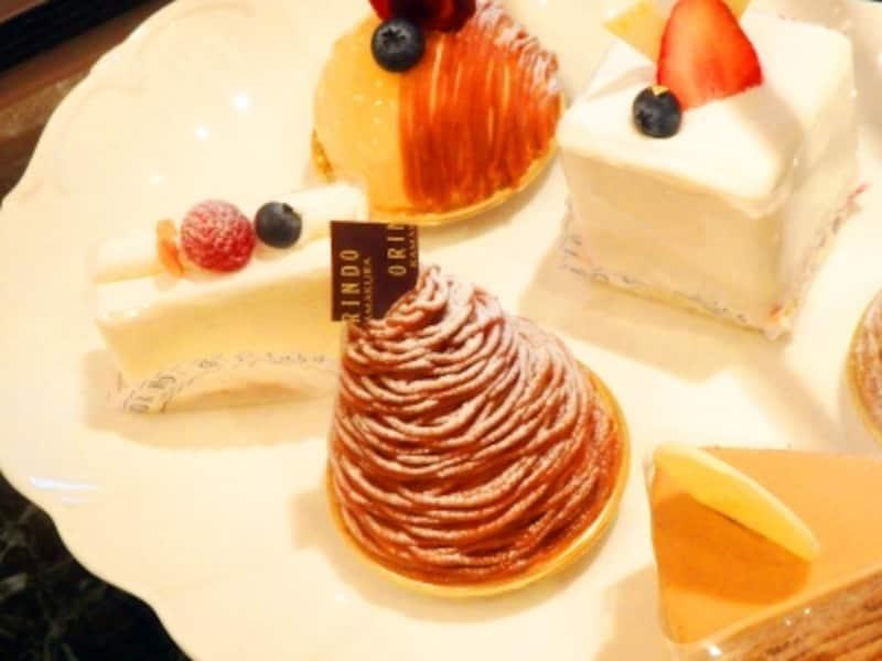 歐林洞のケーキ