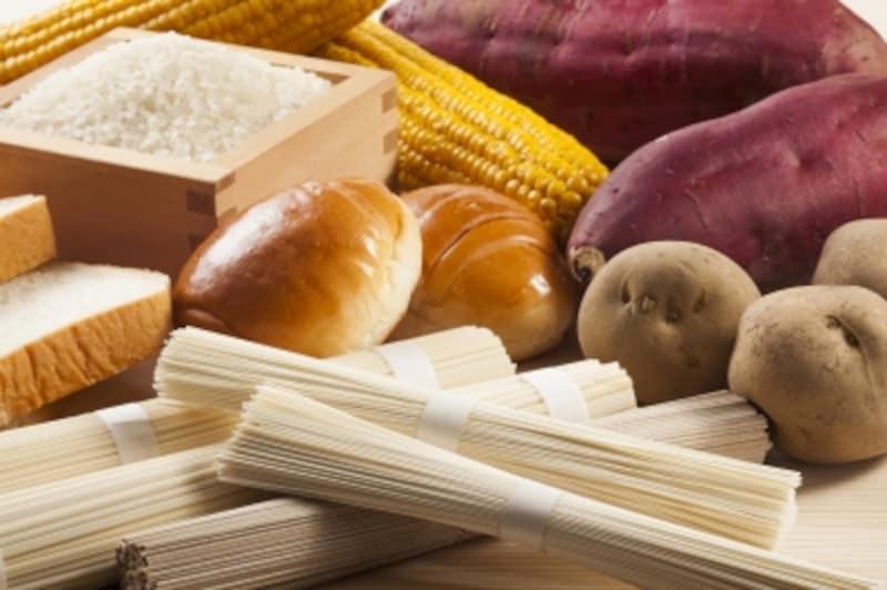 糖質を多く含む食品