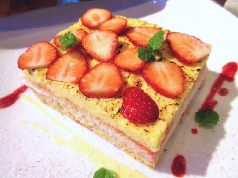 ラ・パランツァ苺ズッパイングレーゼ