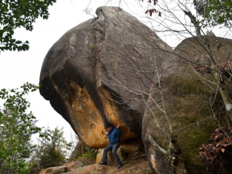 滋賀,パワースポット,八丈岩