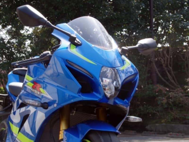 GSX-R1000Rフロントアップ