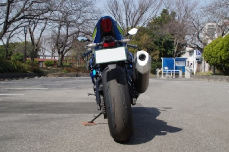 GSX-R1000Rundefinedリアアップ