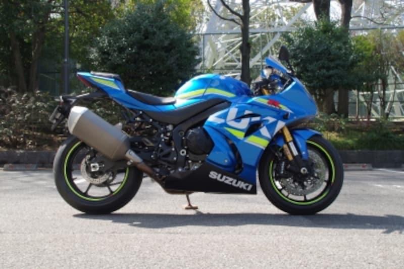 GSX-R1000Rサイドビュー
