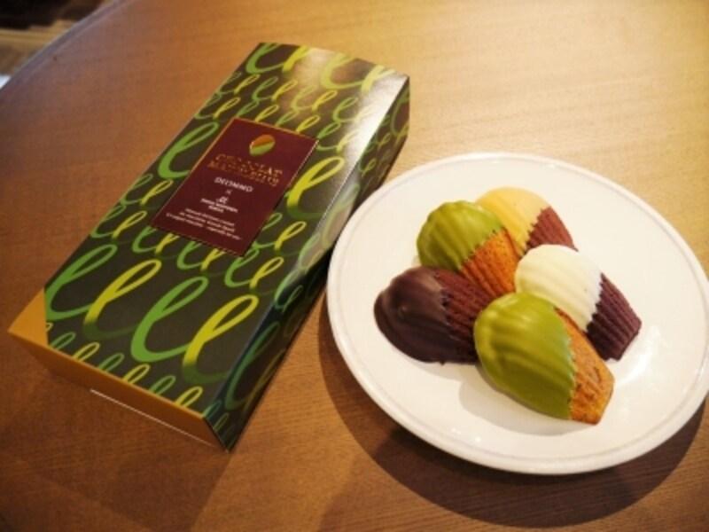 『日比谷ショコラマドレーヌ』(5個入り1700円/税別)