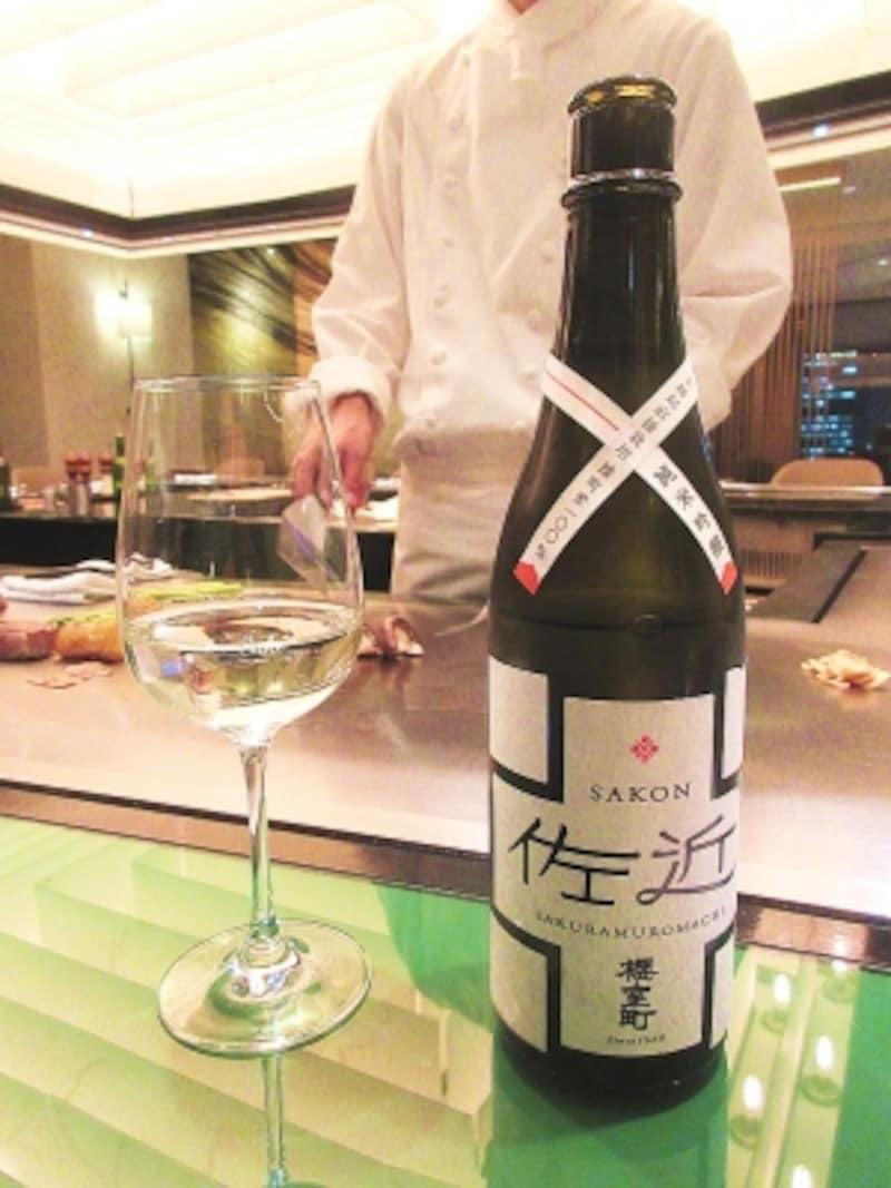 帝国ホテル東京嘉門純米吟醸佐近レアル