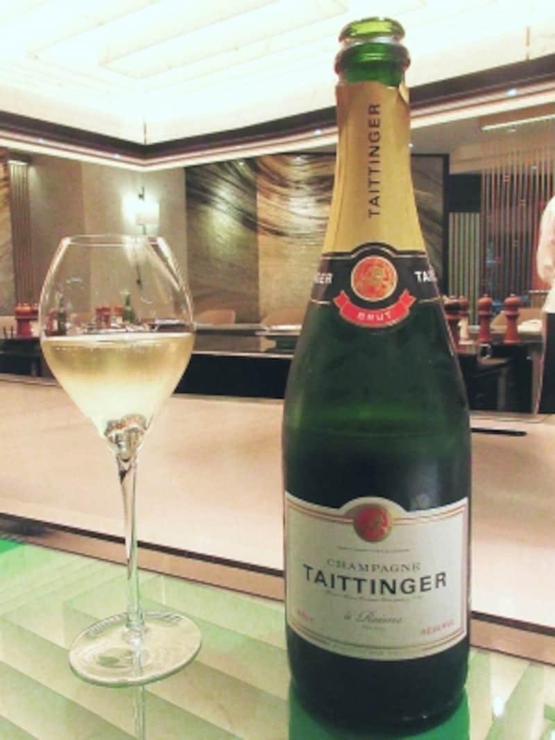 帝国ホテル東京嘉門テタンジェブリュット・レゼルヴ