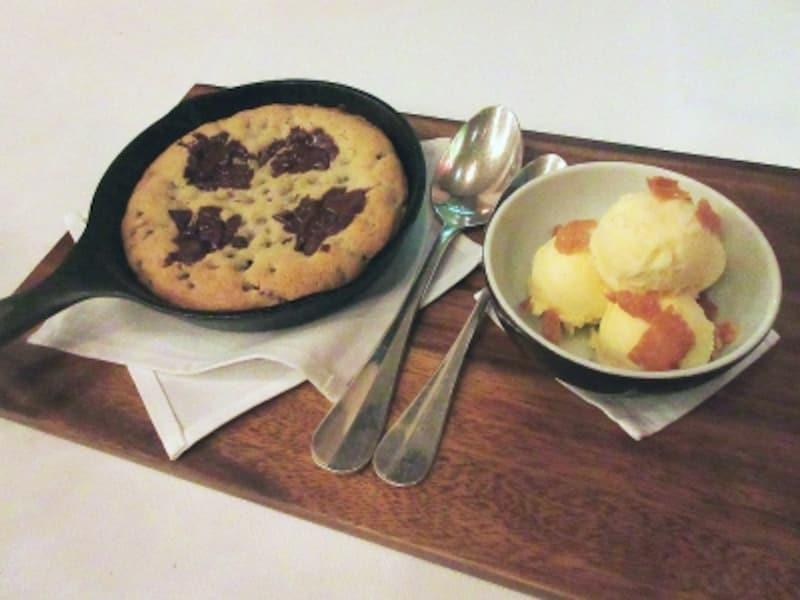 グランドハイアット東京チョコレートチップクッキーバニラアイスクリーム