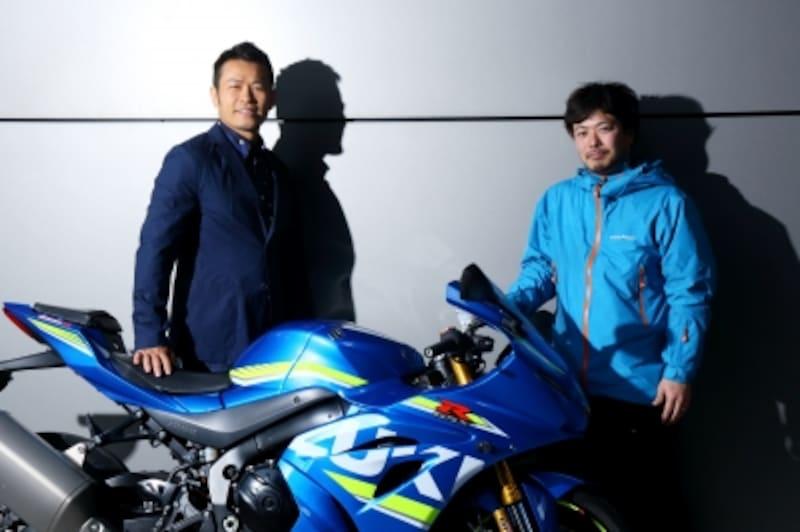 須藤元気とバイクの話をめちゃくした夢のような時間でした!