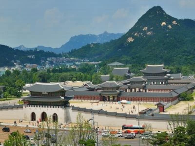 歴史に翻弄されてきた景福宮。韓国の歴史を知る上で外せない重要な宮殿です(C)景福宮