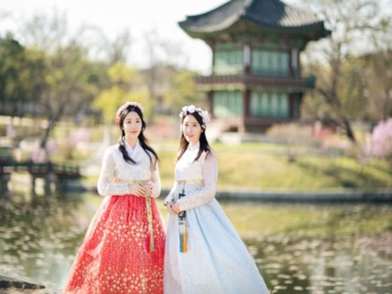 景福宮でインスタ映えする写真を撮るなら、韓服を着ればバッチリ!しかも入場料無料という特典まであり!(c)?????