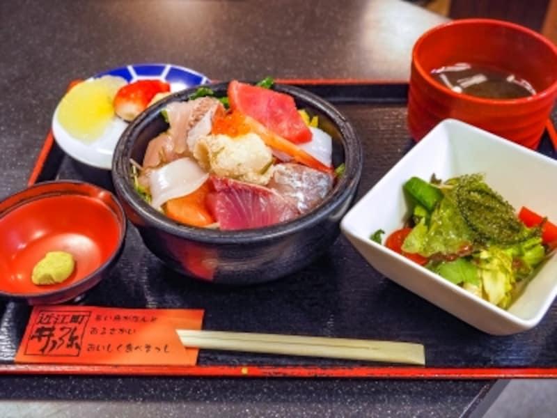 お昼だけの海鮮ランチセット@井ノ弥