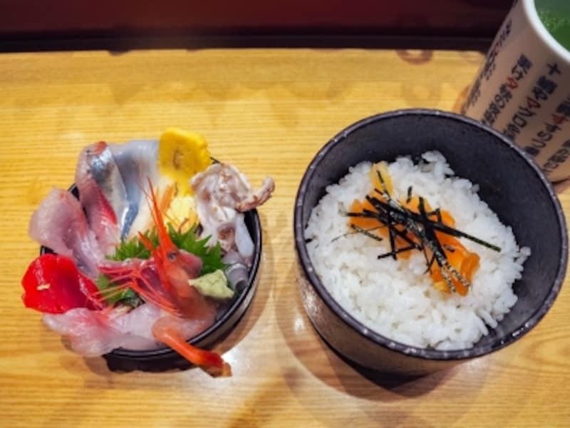 ミニ金沢丼@いきいき亭