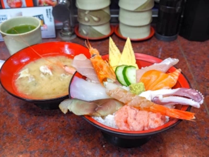 市場海鮮丼@近江町市場寿し