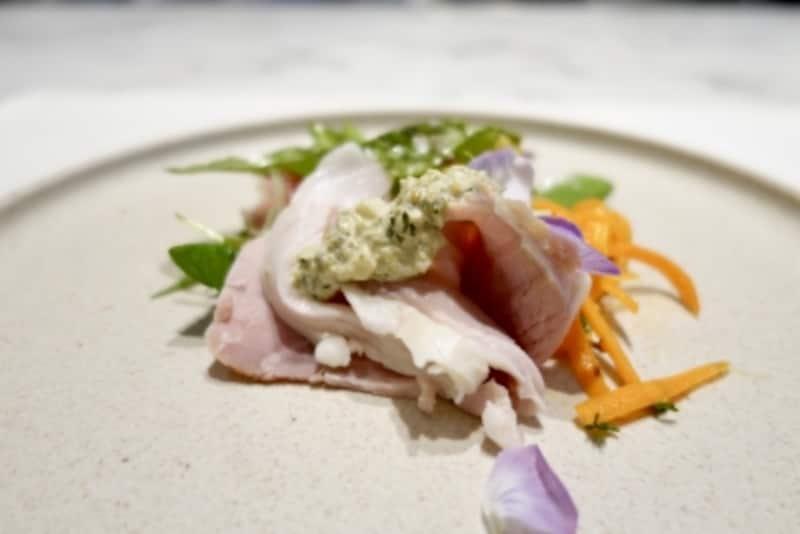 東京ミッドタウン日比谷おすすめレストラン「モルソー」の前菜
