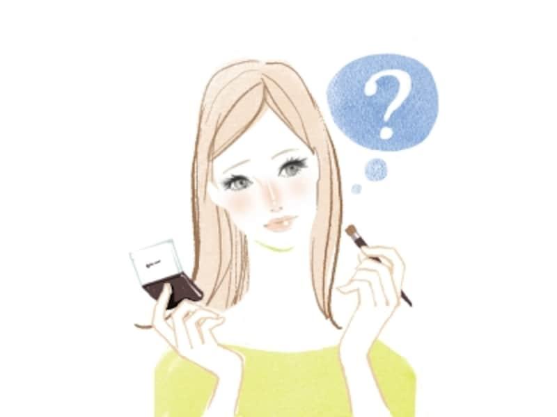 アイシャドウを指で塗るのはNG?チップを使うべき?