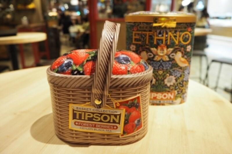 クラシカルでエレガントなデザインの紅茶缶