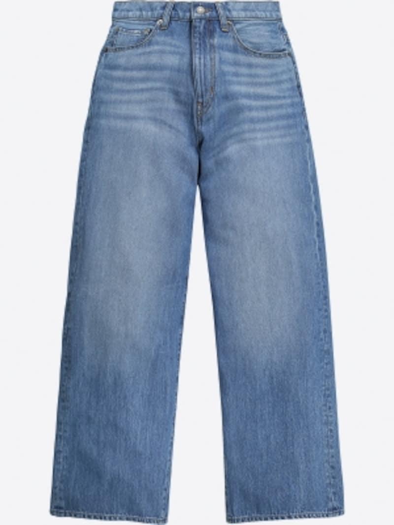 ユニクロハイライズワイドジーンズ2990円(税抜)