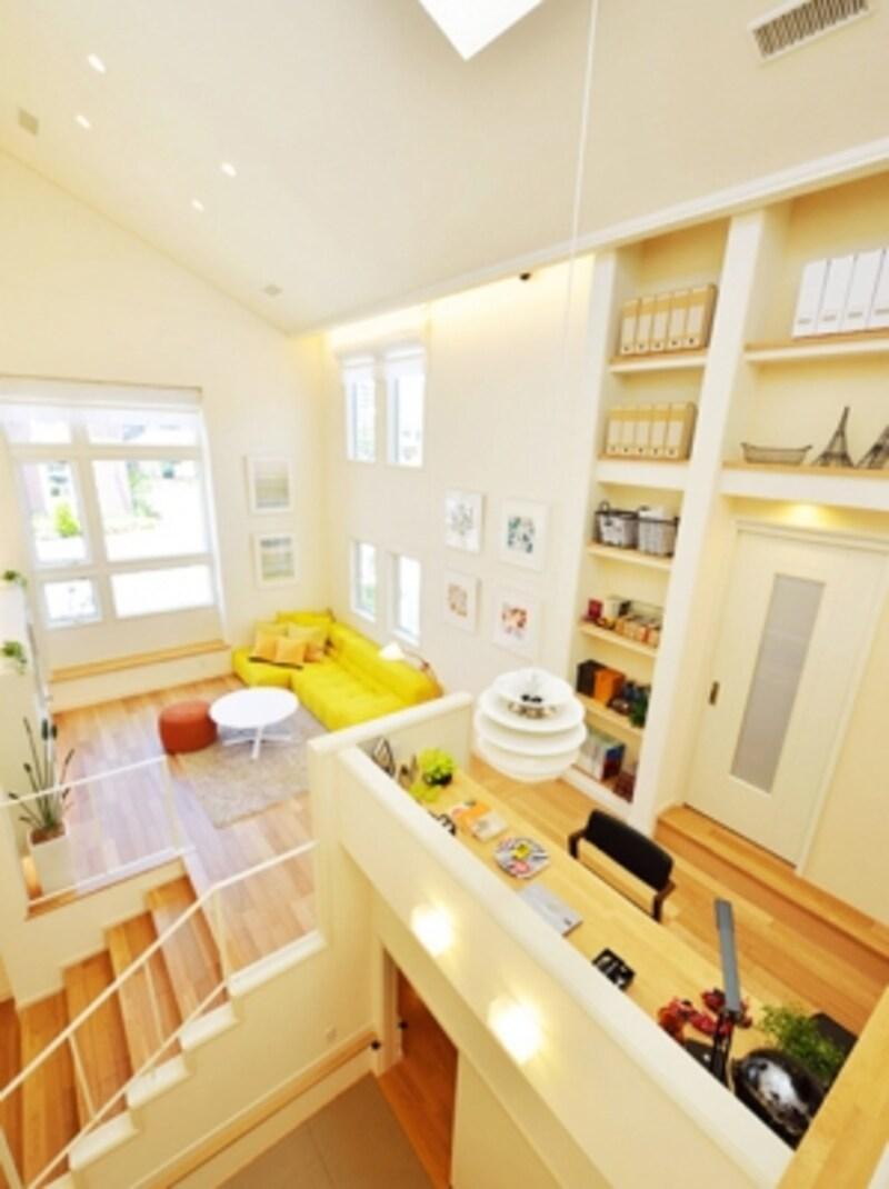 三井ホームundefinedスキップフロアの家「tokotoko」