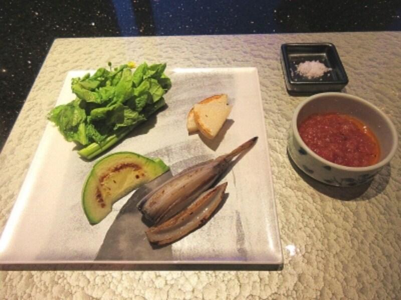 浜木綿焼野菜