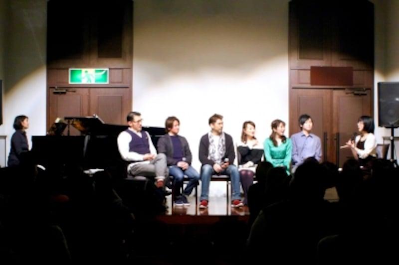 第3回東京ミュージカルフェス「ミュージカル・スペシャルトークショー」『海外ミュージカルの醍醐味』よりundefined写真提供:MusicalOfJapan